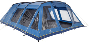 Hi Gear Vanguard Tent pitched