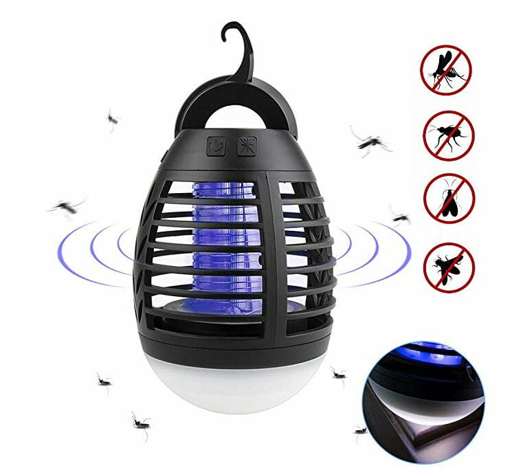 usb rechargable insect repellant light