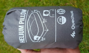 Review of the Quechua Helium Pillow