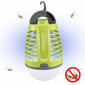 Soulern light and bug zapper