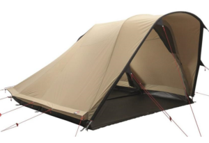 Robens trapper tent pitched