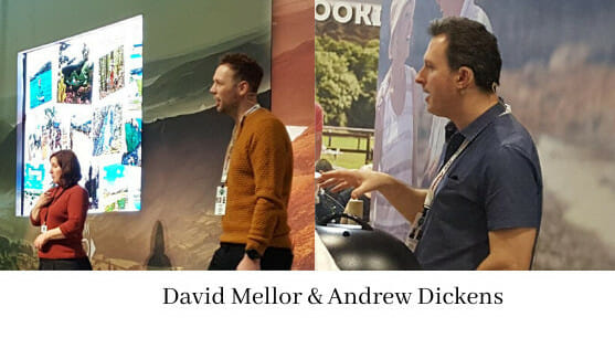 David Mellor and Andrew Dickens