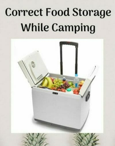 Food Storage while Camping