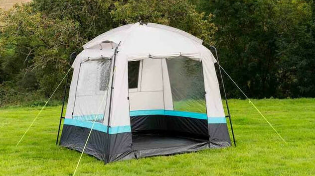 the pod utility tent from olpro