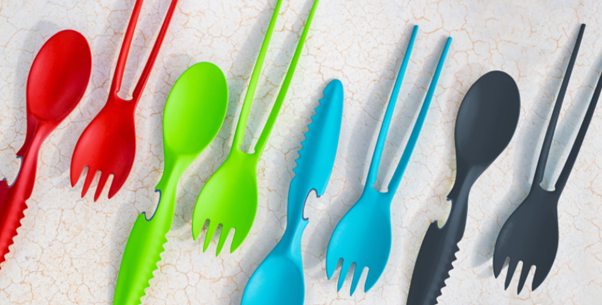 Colapz 7in1 Travel Cutlery Set, Colour Options