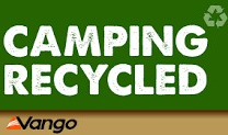 CAMPING RECYCLED SIGN