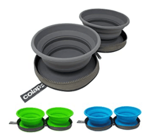 colapz dog bowl set